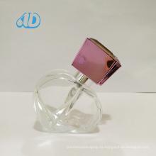 Botella de cristal del perfume del aerosol de la forma especial Ad-P46 25ml
