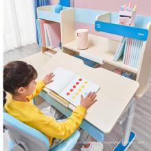 Bureau d'étude avec chaise de table pour enfants bibliothèque