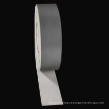 Chengwei personalizó el material de vinilo reflexivo de la transferencia de calor del laser de plata de la cinta del ANIMAL DOMÉSTICO para la ropa