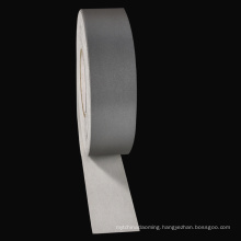 Chengwei customized silver laser Reflective heat transfer vinyl material PET tape for clothing