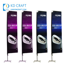 Made in china custom polyester fabric hanging happy birthday party banners with own logo for decoration