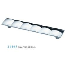 Poignée d'armoire de meuble en alliage de zinc (21405)