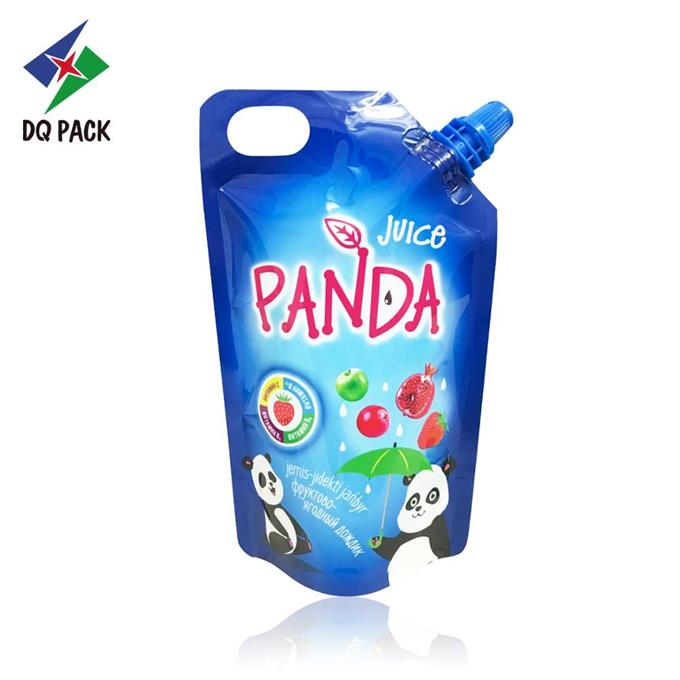 Plastic Juice Injection Packaging