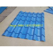High Quality Glazed Steel Tile Roll Forming Machine