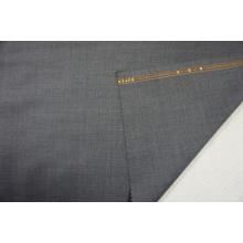 Dark Grey Worsted Wool Fabric