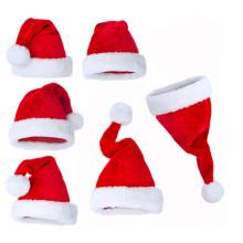 Customized High Quality Aults Christmas Santa Hat Xmas Cap