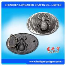 Hebilla del cinturón de la araña del metal 3D / hebilla de correa de encargo del metal Fabricantes