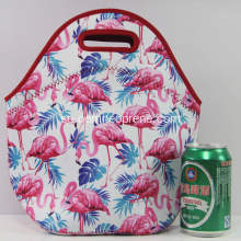 Pretty Flamingo Sublimation Utskrift Neopren Lunch Väskor