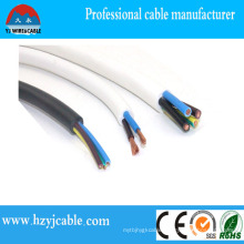 Copper/CCS/CCA Conductor PVC Sheath Cable Flat Cable From Ningbo