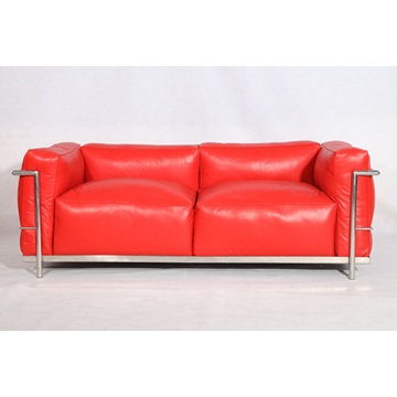 Le Corbusier LC3 Sofa 2-zits Loveseat