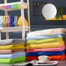 China fabricante barato al por mayor cara y toallas de algodón de baño