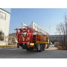 Plataforma de reacondicionamiento montada en camión de 3200 m para varilla de bombeo de tubería