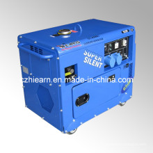 Generador silencioso portable estupendo de la gasolina 5kw (GG6500S)