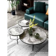 Juego de mesa de centro de cerámica