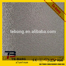 Direct manufacturers orange peel embossed aluminum sheet
