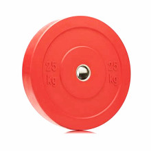 New Style Custom Logo Weight Lifting Training 5KG Rubber Bumper plate