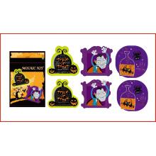 diy EVA kids number craft kit pegatinas de mosaico