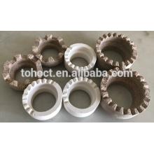 Virola de cerámica para soldadura de conector de corte