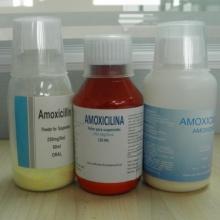 Suspension d'amoxicilline en poudre de sodium