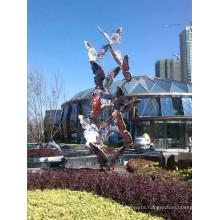 Large Modern Arts Abstract Stainless steel Bird Sculpture for Garden decoration