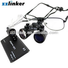 Dental medial magnifier Loupes with light