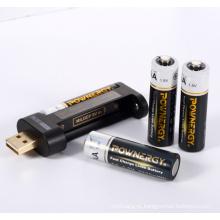 Carregador de telefone de bateria AA