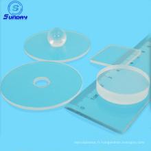 diamètre 2 '' (50.8mm) épaisseur plan de 430umC plaquette de saphir Epi-ready