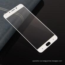 El precio directo de fábrica de Shenzhen, la cobertura total de la película del teléfono móvil moderó el protector de pantalla de vidrio para OPPO R9