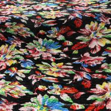 Printing Crepe Crumple Yoryu Fabric