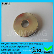 D30d25H5 ndfeb round magnets with hole