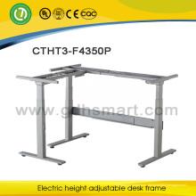 Последний офисный стол конструкций генеральный менеджер электрической регулируемый стол рамка офисный стол дизайн