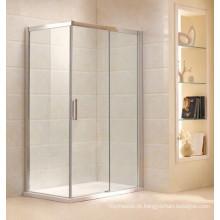Gabinete de chuveiro de vidro temperado design simples (B16)
