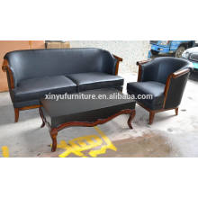 3-seater antique solid wood new look classical sofa XYN186