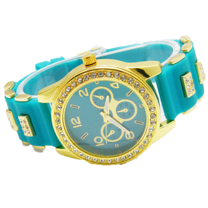 2016 Fashion Girls Silicone Wrist Watch