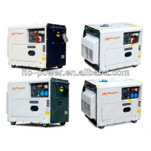 5kW tragbare stille schalldichte elektrische grüne Macht Aggregat