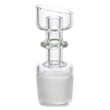 Domeless Quarz Nail für Raucher mit männlich abgewinkelt (ES-QZ-016)