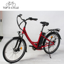 Livelytrip Electric Bicycle Colorful E Bike DIY City E-Bike Electric Bike For Lady Made In China