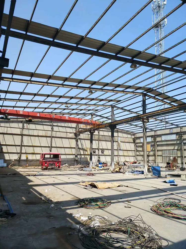 Steel Workshop Building Prefab