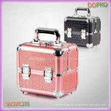De tamaño medio de cocodrilo de PVC Mateiral caja de almacenamiento de maquillaje (saccom105)