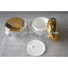 Acrylic cream container