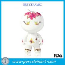 Petit cadeau d'anniversaire de porcelaine en céramique de Dorable