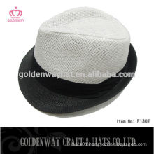 Newest Style White Cheap Fedora Hat
