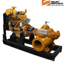 Trailer Mounted Pump Equipped Diesel Engine