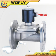 Válvula solenóide de drenagem de água hidráulica de controle