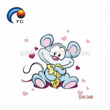 Autocollants de tatouage d'enfants de CMYK de bande dessinée de prix concurrentiel du fabricant