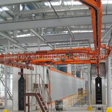 Ligne de revêtement de poudre statique personnalisée