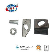 Iron or Steel Rail Clamping Plate for Fastening