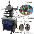 Tam-320-H Pneumatic Hydraulic Pressure Leather Plastic Rubber Wood Embossing Coating Hot Stamping Machine