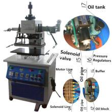 Tam-320-H Pneumatique Hydraulique En Cuir de Pression En Cuir En Caoutchouc En Plastique En Caoutchouc Revêtement Gaufrage à chaud Machine
