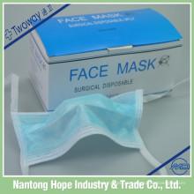 máscara facial não tecida com laço